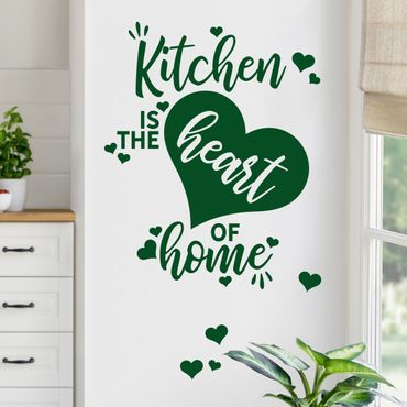 Adesivo murale - Kitchen Rules With Love