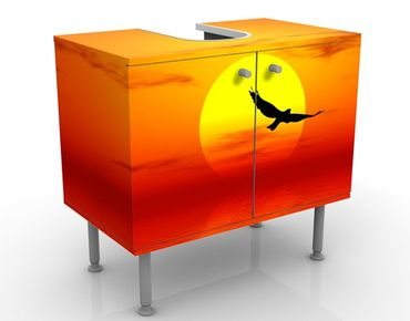 Mobile per lavabo design Fabulous Sunset No.2