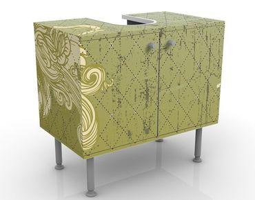 Mobile per lavabo design Floral Baroque