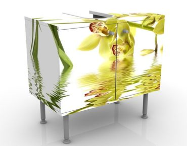 Mobile per lavabo design Elegant Orchid Waters