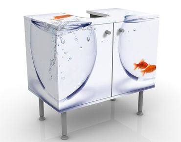 Mobile per lavabo design Flying Goldfish