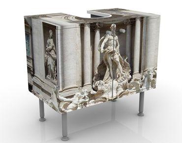 Mobile per lavabo design Fontana Di Trevi