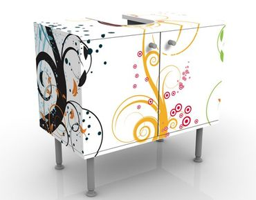 Mobile per lavabo design Fragile Bubbles