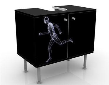 Mobile per lavabo design Glassy Human