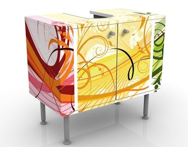 Mobile per lavabo design Glory Colours