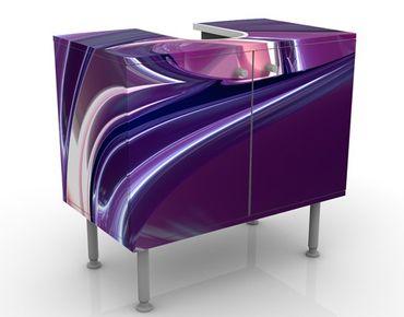 Mobile per lavabo design Circles In Purple