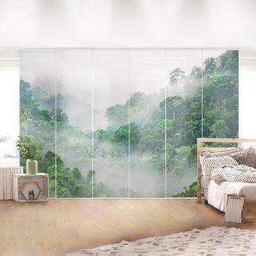 Tende scorrevoli set - Jungle In The Fog