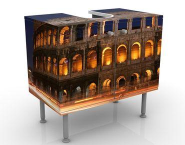 Mobile per lavabo design Colosseum In Rome At Night