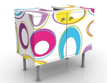 Mobile sottolavabo - Happy Eggs - Mobile bagno colorato