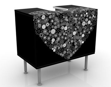 Mobile sottolavabo - Heart Giveaway - Mobile bagno nero
