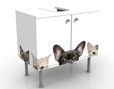 Mobile per lavabo design Cats with Puppy Dog Eyes
