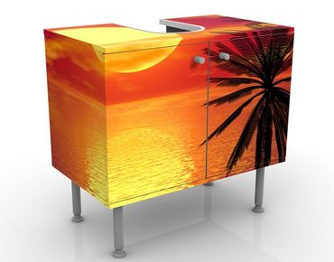 Mobile per lavabo design Caribbean Sunset
