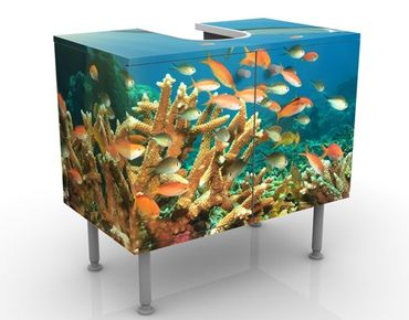 Mobile per lavabo design Coral Reef
