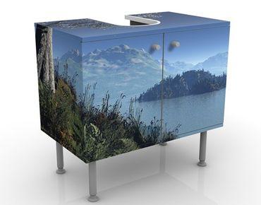 Mobile per lavabo design Winter Fairytale