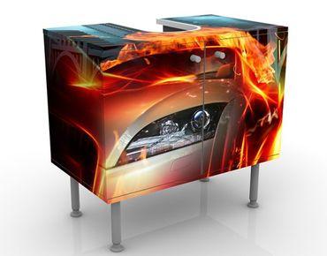 Mobile per lavabo design Burning Asphalt