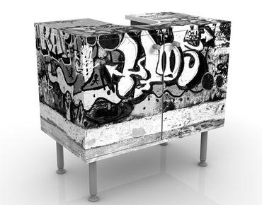 Mobile per lavabo design Graffiti Art