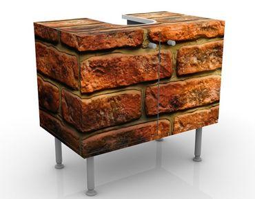Mobile per lavabo design Bricks