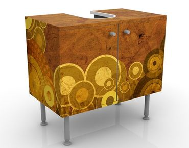 Mobile per lavabo design Golden Circles