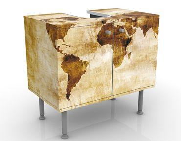 Mobile per lavabo design no.CG75 Map Of The World