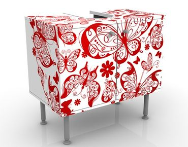 Mobile per lavabo design Heart Made Of Butterflies