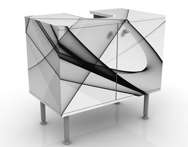 Mobile per lavabo design Winter Shapes