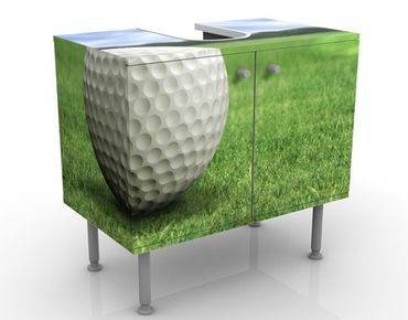 Mobile per lavabo design Golfball