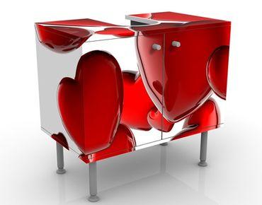 Mobile per lavabo design Heart Balloons