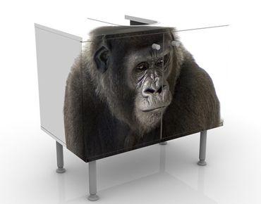 Mobile per lavabo design Lying Gorilla I