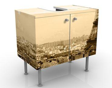 Mobile per lavabo design I Love Paris