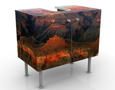 Mobile per lavabo design Canyon After Sundown