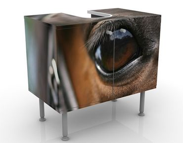 Mobile per lavabo design Horse Eye