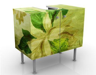 Mobile per lavabo design Green Blossoms