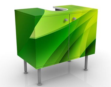 Mobile per lavabo design Green Composition