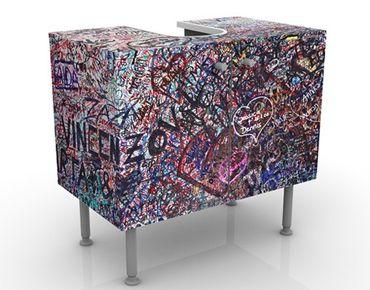 Mobile per lavabo design Verona - Romeo & Julia