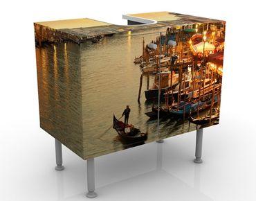 Mobile per lavabo design Large Canal Of Venice