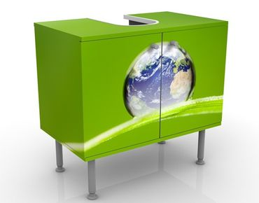 Mobile per lavabo design Green Hope