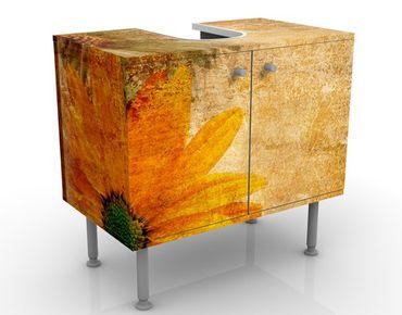 Mobile per lavabo design Vintage Flowermix