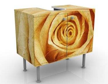 Mobile per lavabo design Vintage Rose
