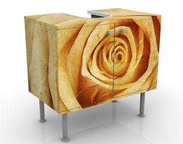Mobile per lavabo design Vintage Rose