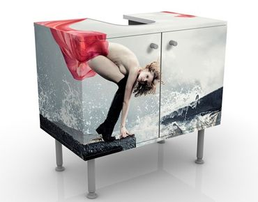 Mobile per lavabo design Woman At The Sea