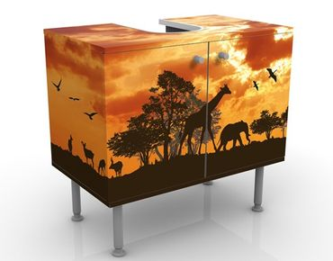 Mobile per lavabo design Tanzania Sunset