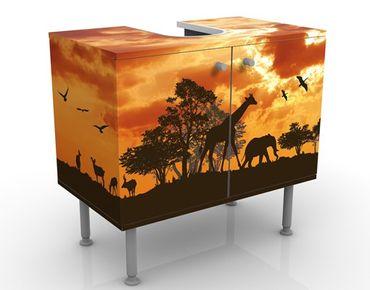 Mobile per lavabo design Tanzania Sunset