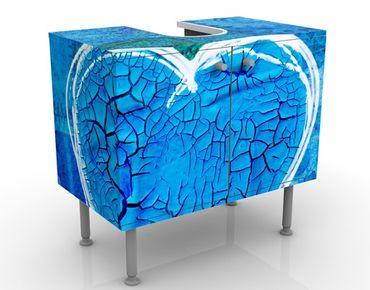 Mobile per lavabo design Terra Azura