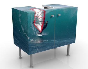 Mobile per lavabo design The Surfer