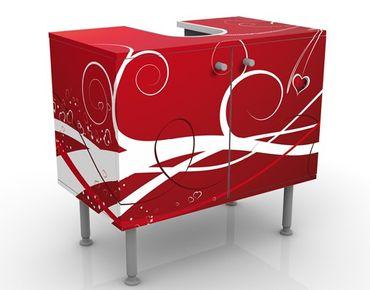Mobile per lavabo design Ti Amo