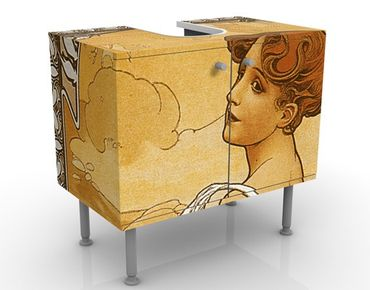 Mobile per lavabo design Miss Summer