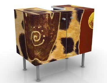 Mobile per lavabo design Touch Of Africa