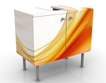 Mobile per lavabo design Orange Dust