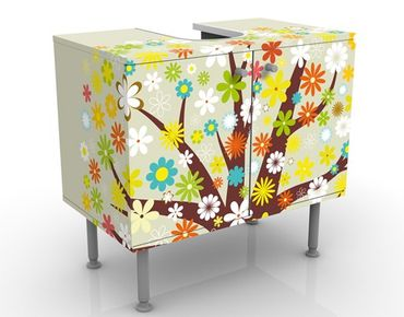Mobile per lavabo design Dream Tree