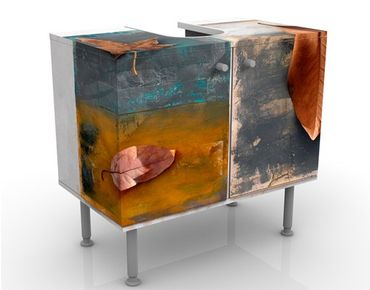 Mobile per lavabo design Leaves Stilllife